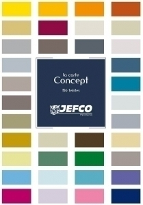nuancier la carte concept jefco