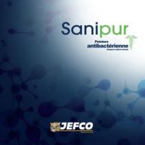 SANIPUR Peinture anti-bactérienne