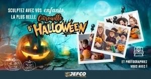 Jefco fête les peintres et Halloween ! Participez à notre jeu-concours !