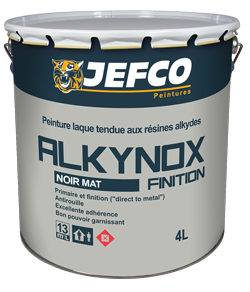 ALKYNOX FINITION NOIR MAT