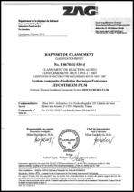 RAPPORT REACTION AU FEU JEFCOTHERM P.LM
